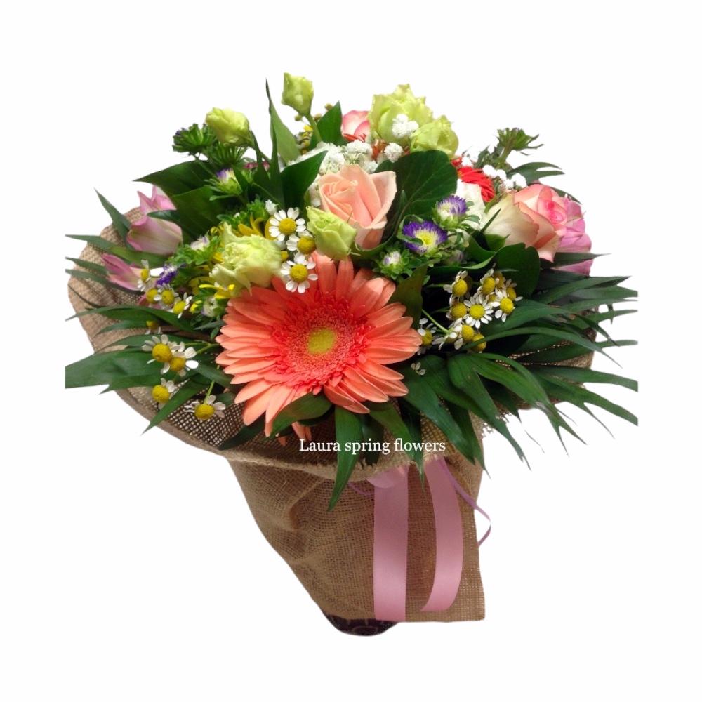 Καλύβια αποστολή λουλουδιών online ανθοπωλείο