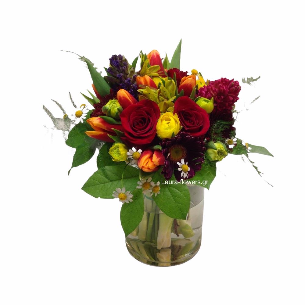 Περιστέρι αποστολή λουλουδιών online ανθοπωλείο