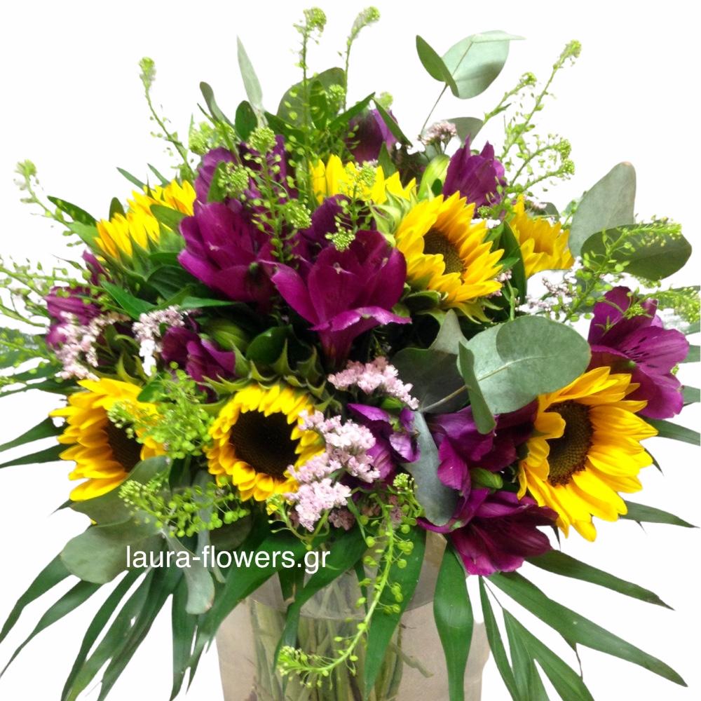 Ίλιον αποστολή λουλουδιών online ανθοπωλείο